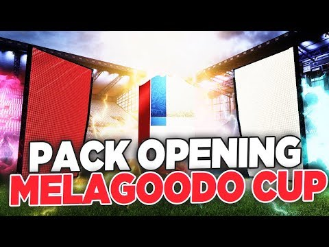 MELAGOODO CUP!!  PACK OPENING + SQUAD BUILDER