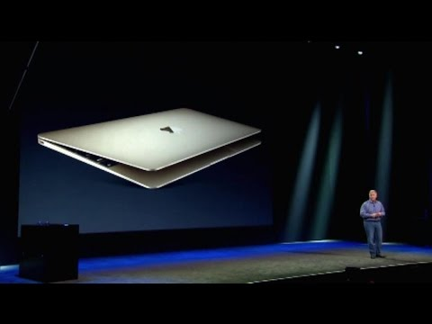 Apple's New MacBook: It's Thinner and Lighter