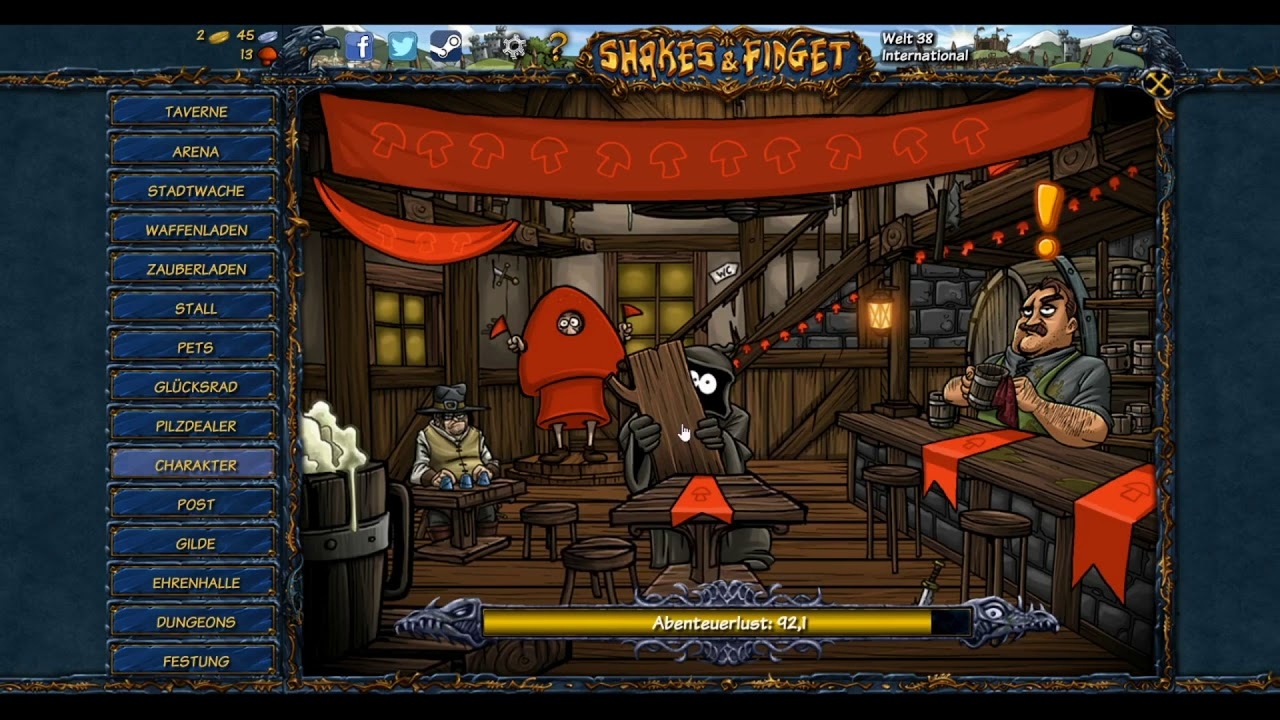 Shakes And Fidget 12