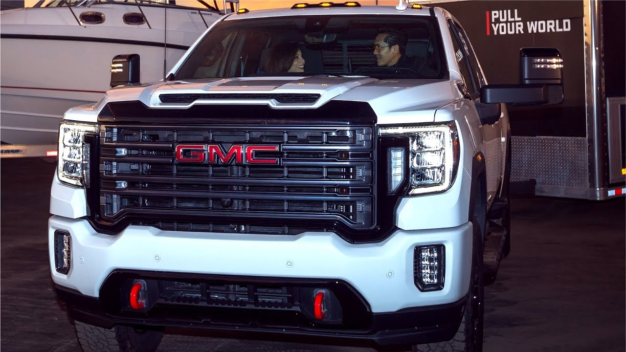 2020 GMC Sierra Heavy Duty - With powerful Duramax 6.6L ...