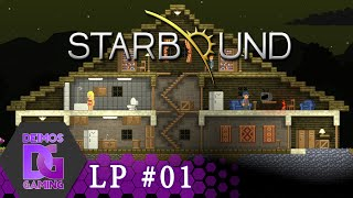 Starbound Multiplayer #01 - Nová série? /w Bauchyč | Let's play CZ/SK