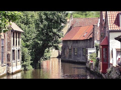 Bruges Belgium on A Beautiful June Day