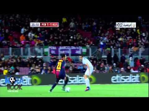 أهداف برشلونة و ديبورتيفو ألافيس 3-1 كاس ملك اسبانيا