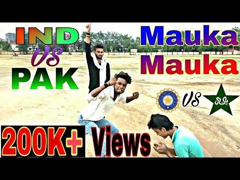 Mauka Mauka | Dhoni vs Sarfraz | IND vs PAK | ICC Champion Trophy 2017 | (Funny) | KirKiri Dhn |