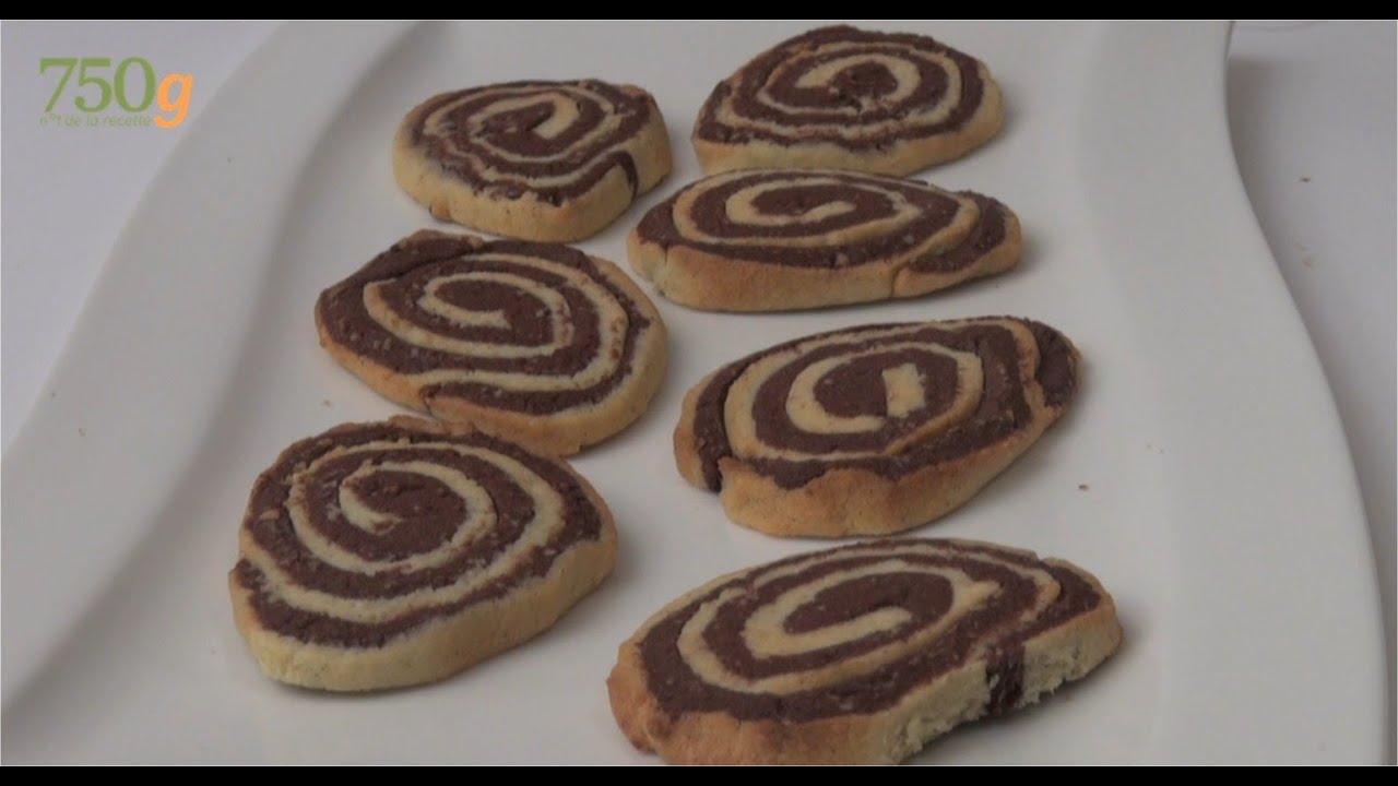 Recette de sabl s escargots vanille et au chocolat 750 - Recette de cuisine algerienne traditionnelle ...