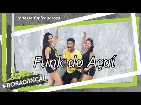 Funk do Açaí - Vanessa Esplendorosa | Coreografia Free Dance | #boradançar thumbnail