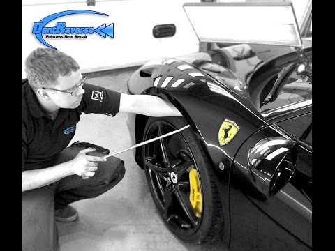 Ferrari 458 Paintless Dent Repair by Dent Reverse