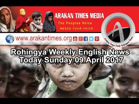 Rohingya Weekly English News Today Sunday 09 April 2017