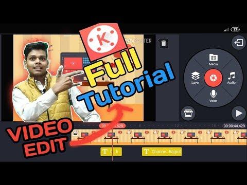 Kinemaster Tutorial in hindi  | Full video Editing in Hindi thumbnail