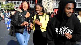 What AREA in LEICESTER has the MOST TANTALYSING GIRLS/BOYS?