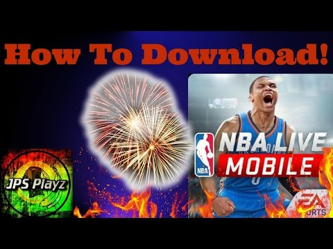 HOW TO DOWNLOAD NBA LIVE MOBILE ON ANDROID | WITHOUT MAKING A CANADIAN PLAY STORE ACCOUNT |