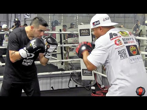 Timothy Bradley vs. Brandon Rios full video- COMPLETE Rios Media Workout video: Full & Uncut
