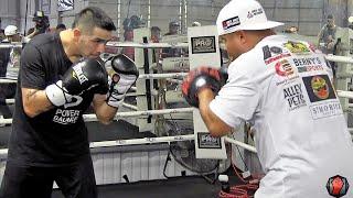 Timothy Bradley vs. Brandon Rios full video- COMPLETE Rios Media Workout video: Full & Uncut