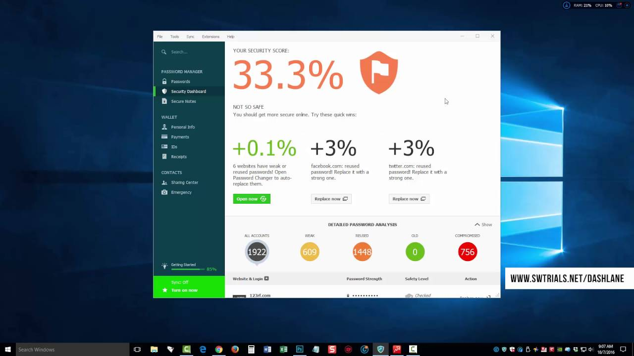 Dashlane Password Manager Review and Free Download