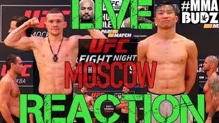 UFC Moscow Khabilov,  Taisumov,  Petr Yan, Adam Yandiev, Magomed Ankalaev LIVE REACTION #MMABUDZ