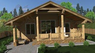 Деревянный дачный дом №2. Компания