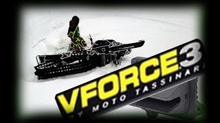 INSTALLING POWER | V Force 3 Reeds on Actic Cat M8000