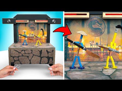 Игра Mortal Kombat В РЕАЛЬНОЙ ЖИЗНИ!