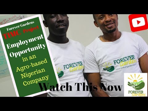 Forever Gardens Job Opportunities in Oyo, Ogun & Lagos States