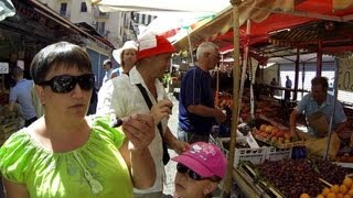 Вуччирия(Vucciria) рынок в Палермо+морской порт Рынок Вуччирия в Палермо Сицилия Италия(Вуччирия(Vucciria) рынок в Палермо+морской порт Рынок Вуччирия в Палермо Сицилия Италия La Vucciria Вуччирия (Vucciria)..., 2013-07-13T09:54:58.000Z)