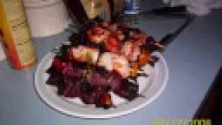 Stuffed Peppers & Shish Kebabs
