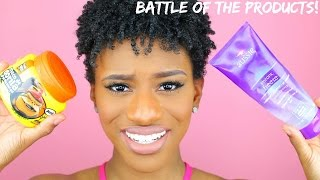 Natural Hair Battle of the Products! (Wash & Go FACE OFF!)
