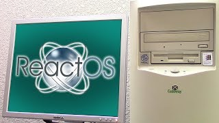 The ReactOS Marathon - Installing on Real Hardware! ($5 Windows 98 PC)