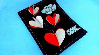 Beautiful handmade BIRTHDAY card idea for LOVE | complete tutorial