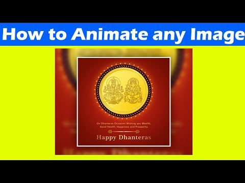 How To Animate Any Image In Photoshop