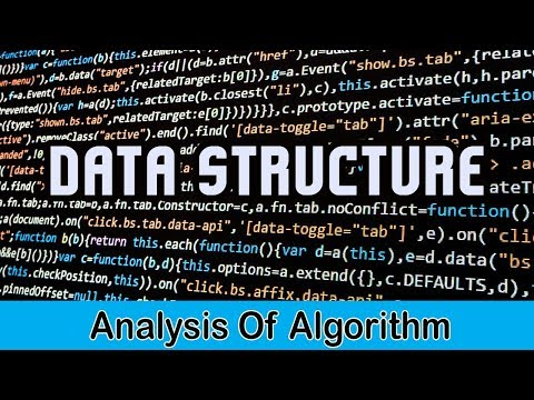 Data Structure | Analysis Of Algorithm | Lecture 3