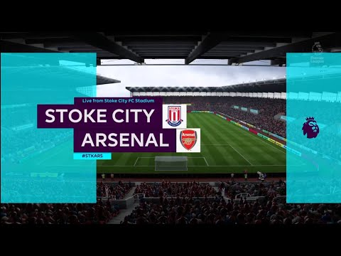 FIFA 18 | Premier League | Stoke City v Arsenal | Stoke City FC Stadium