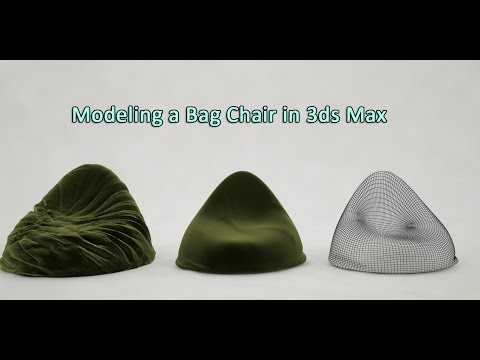 Modeling a Bean Bag Chair in 3ds Max