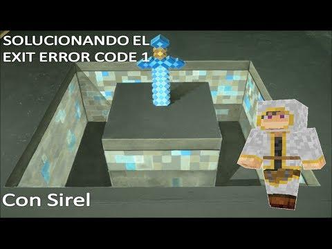Solucion a Exit Error Code 1 de Minecraft