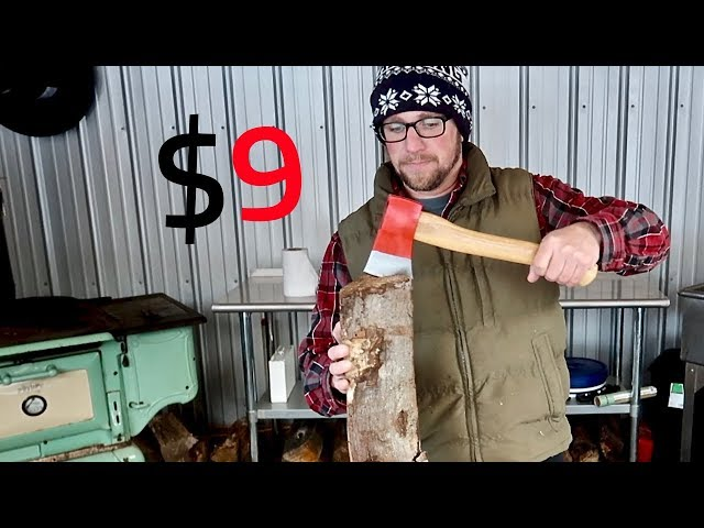 Testing a $9 Axe on Amazon | Too Good to be TRUE