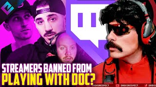 Twitch Streamers Can NEVER Play with Dr Disrespect Again