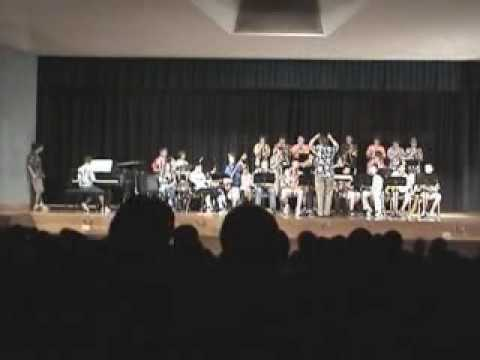 North Middle School Jazz Band at the Into the Arts Festival  PART 1