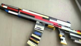 AK 47 из лего *4. Lego.