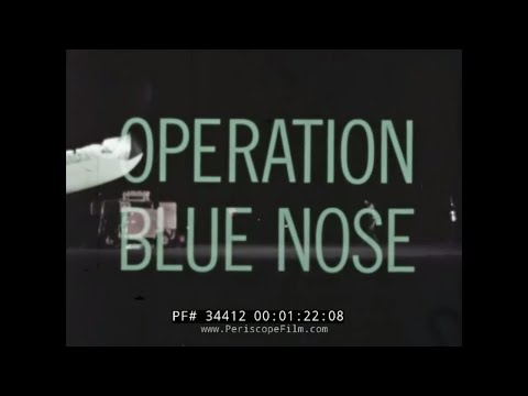 OPERATION BLUENOSE  AGM-28 HOUND DOG MISSILE  B-52 LAUNCH 1960  34412