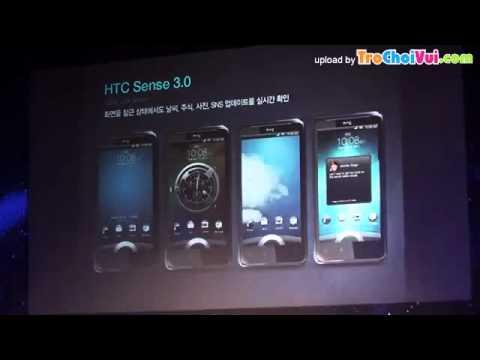 Giới thiệu HTC Raider 4G ở Hàn Quốc