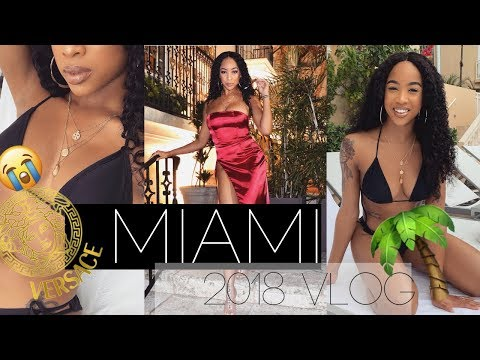 Miami VLOG | Versace Mansion, Southbeach, Photoshoot, Spa Day
