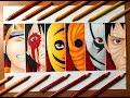 Speed Drawing - Obito Uchiha's Evolution (Naruto Shippuden) [HD]
