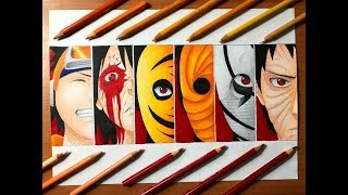 Speed Drawing - Obito Uchiha