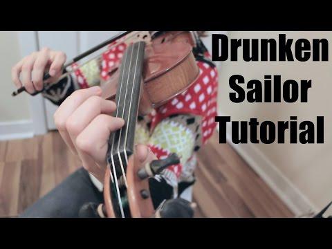 Drunken Sailor - Fiddle Tutorial