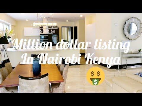 Apartment Hunting: Million Dollar listing (Ksh100M) in Nairobi | Most expensive apartment in Kenya?