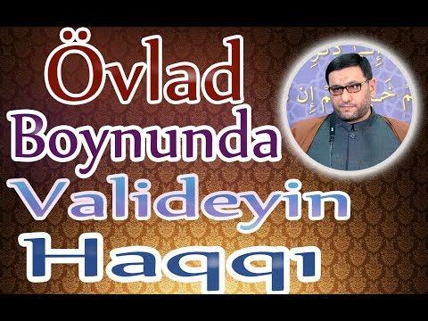 Övlad Borcu - Ata Anaya Xidmət_Hacı Şahin (YENİ_2o19)