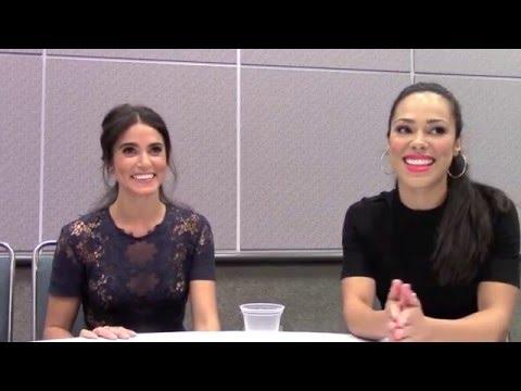 Sleepy Hollow - Nikki Reed, Jessica Camacho Interview Season 3