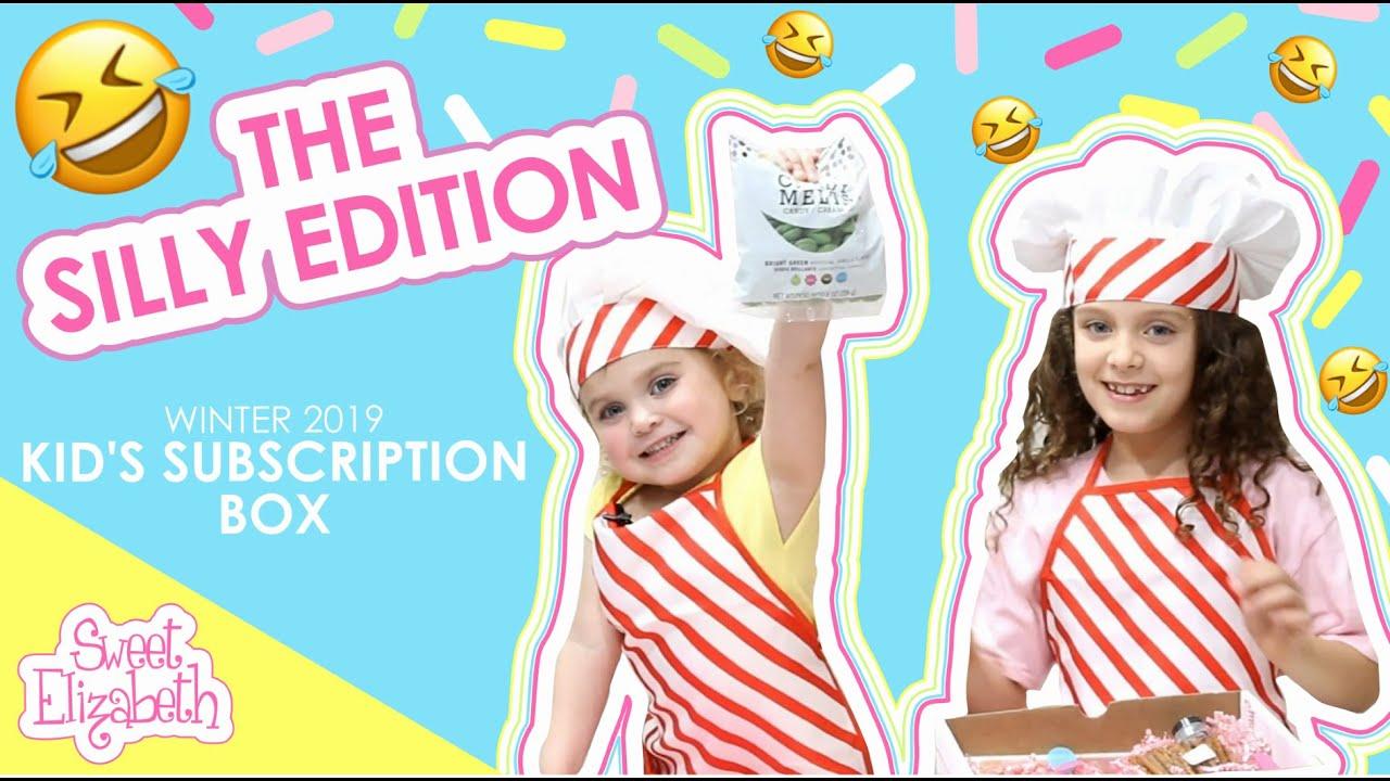 kids baking subscription box