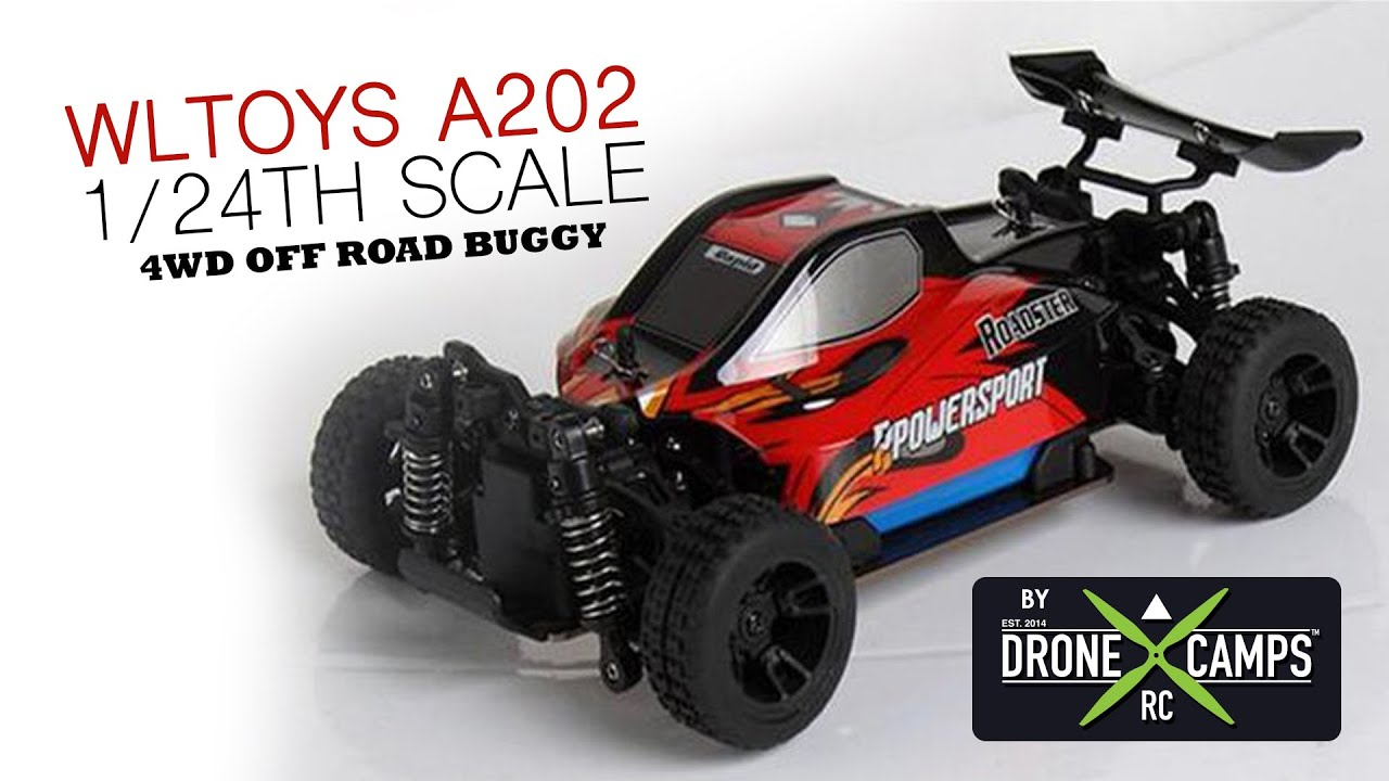WLtoys A202 1/24th Scale Buggy Review & Road Test - YouTube