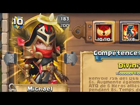 Castle Clash - Mikael Gameplay, Test Complet
