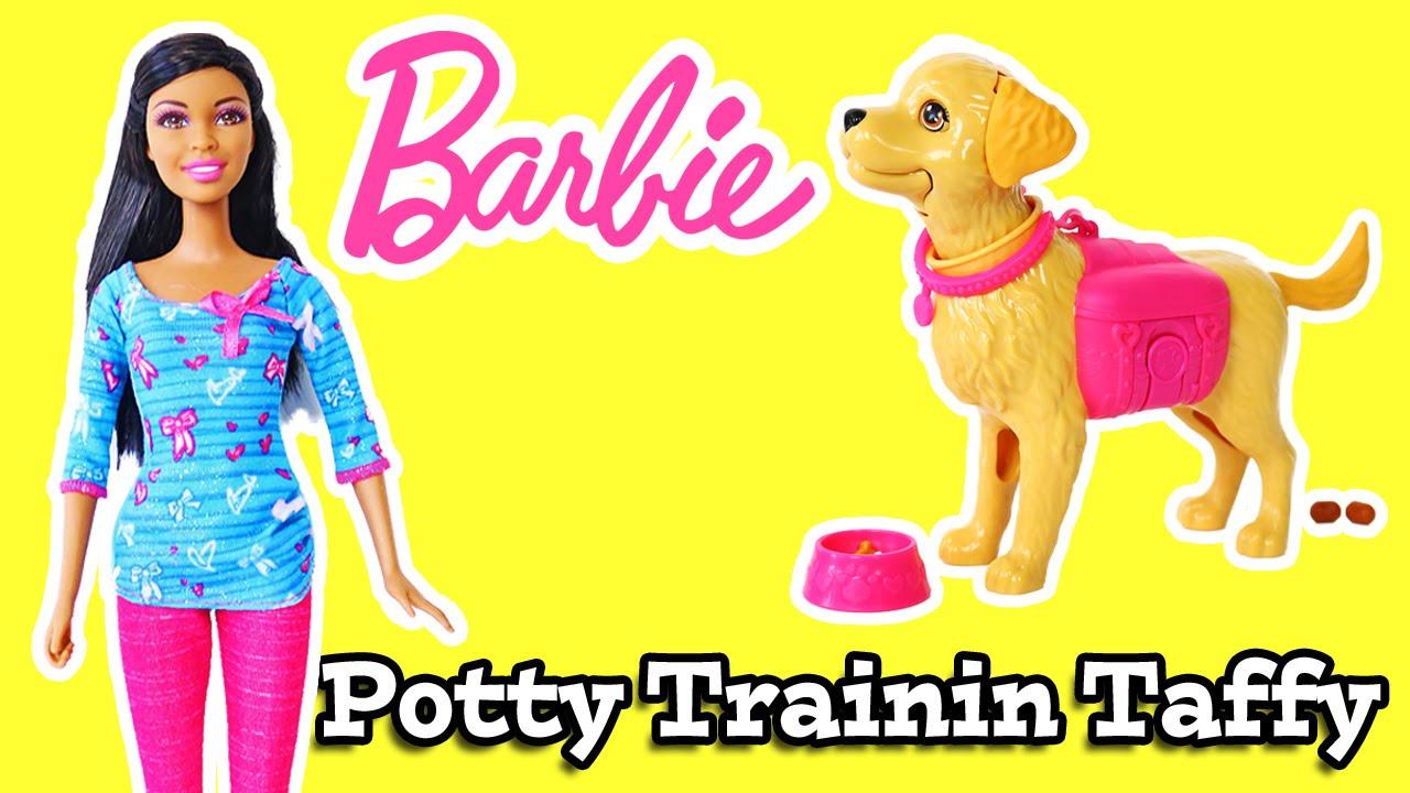 Toys R Us Potty Watch : Barbie potty tranin taffy doll set review youtube